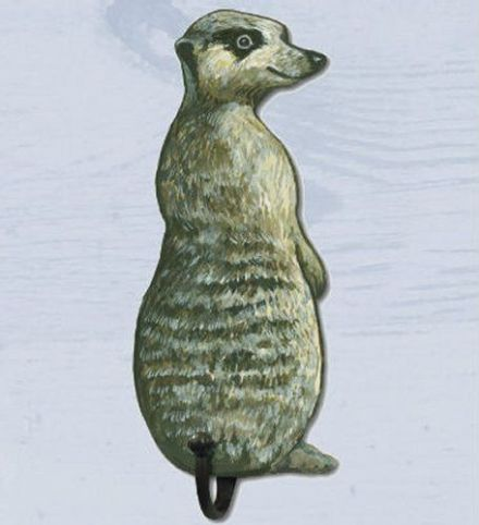 Meerkat Shaped Single Hook